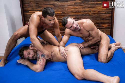 The Lucas Men Gang, Bang, and Pound (Part 01) - Gay Movies - Lucas Entertainment