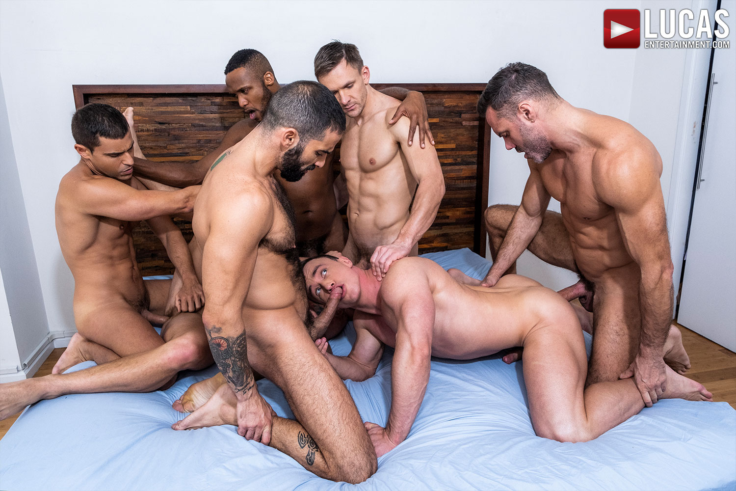 Ganged, Banged, And Pounded - Gay Movies - Lucas Entertainment