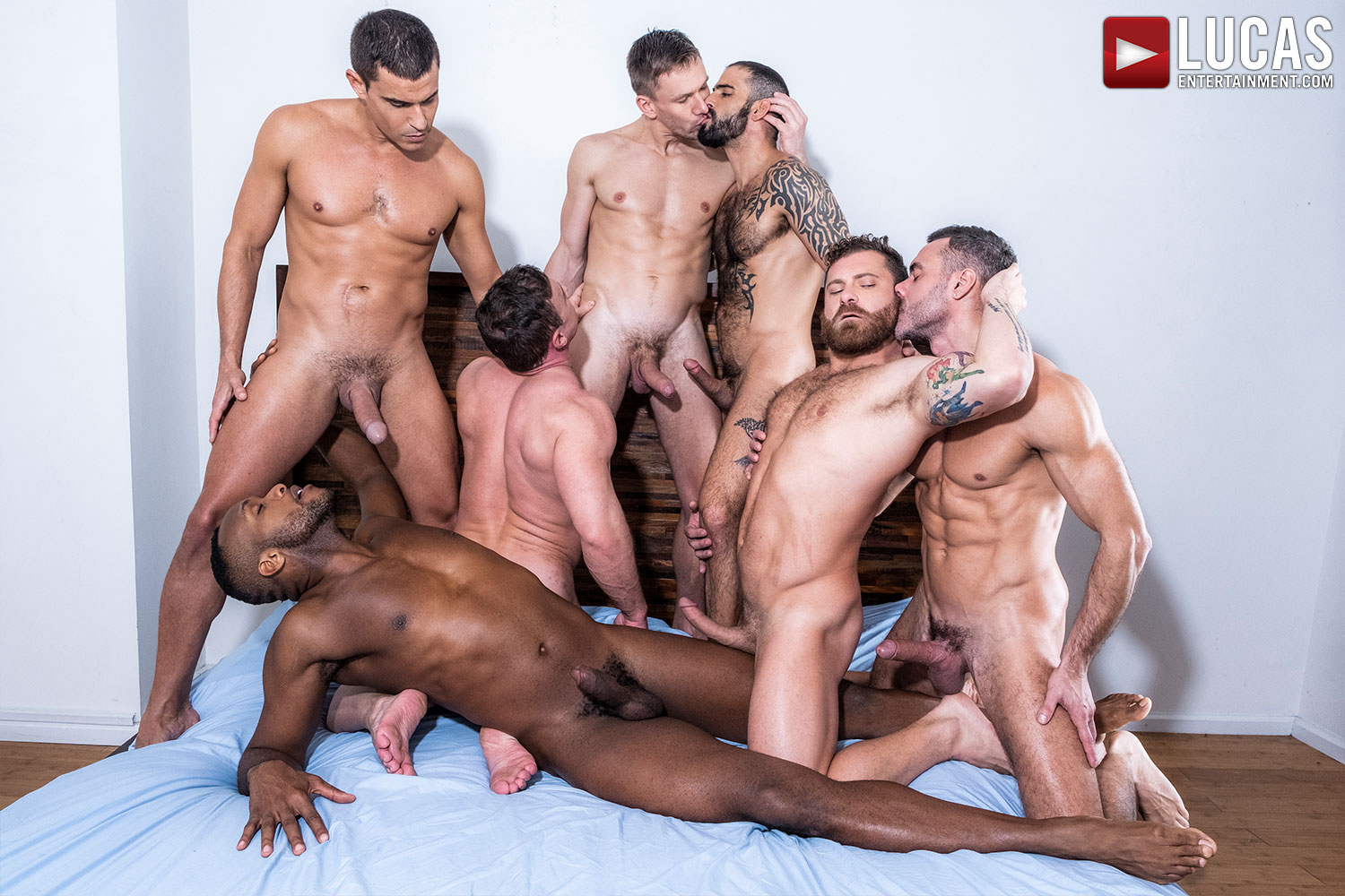 The Lucas Men Gang, Bang, and Pound (Part 02) - Gay Movies - Lucas Entertainment