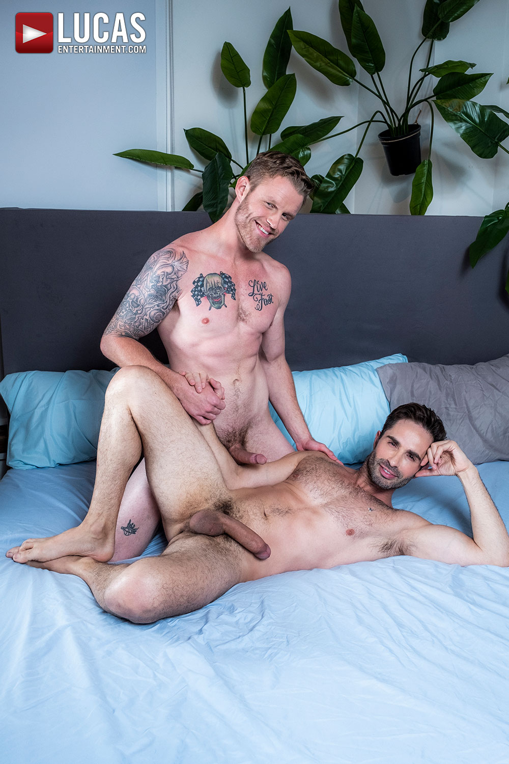 Michael Lucas Tops Shawn Reeve - Gay Movies - Lucas Entertainment
