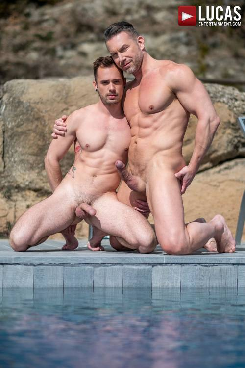 Muscle-Daddy Tomas Brand Pumps Drake Rogers' Ass - Gay Movies - Lucas Entertainment