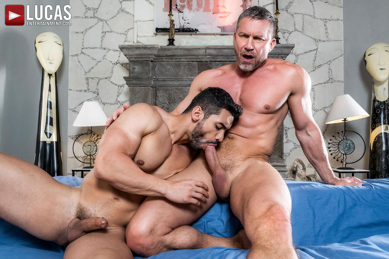 Tomas Brand And Arad Winwin Bareback Dakota Payne - Gay Movies - Lucas Entertainment