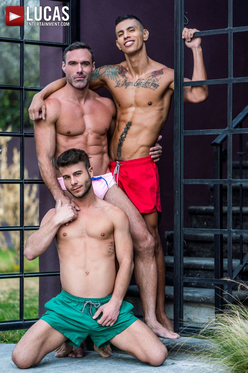 Allen King And Max Avila Share Manuel Skye's Uncut Cock - Gay Movies - Lucas Entertainment