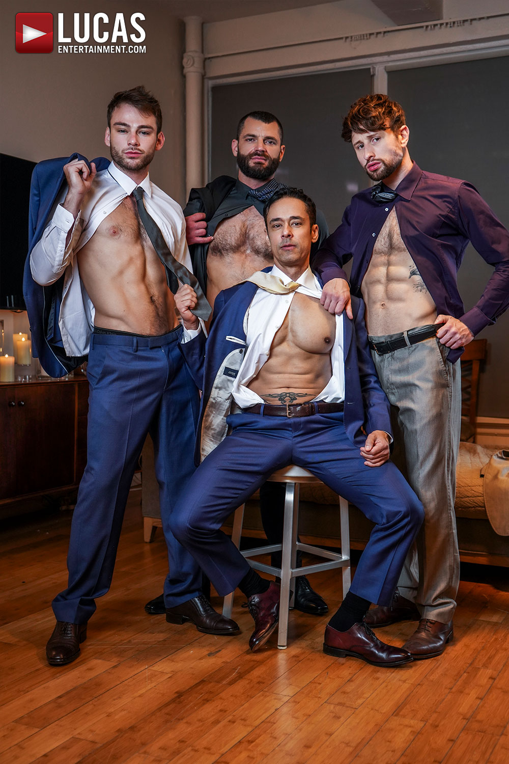 Gentlemen 26: Long, Hard Hours - Gay Movies - Lucas Entertainment