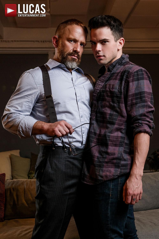 Dirk Caber Barebacks Dakota Payne - Gay Movies - Lucas Entertainment