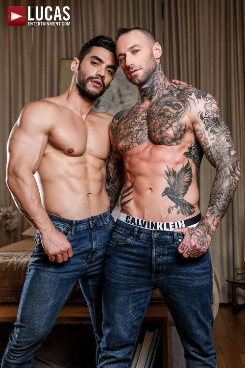 Arad Winwin Pounds Dylan James In The Ass - Gay Movies - Lucas Entertainment