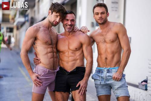 Drew Dixon Submits To Manuel Skye And Max Adonis - Gay Movies - Lucas Entertainment