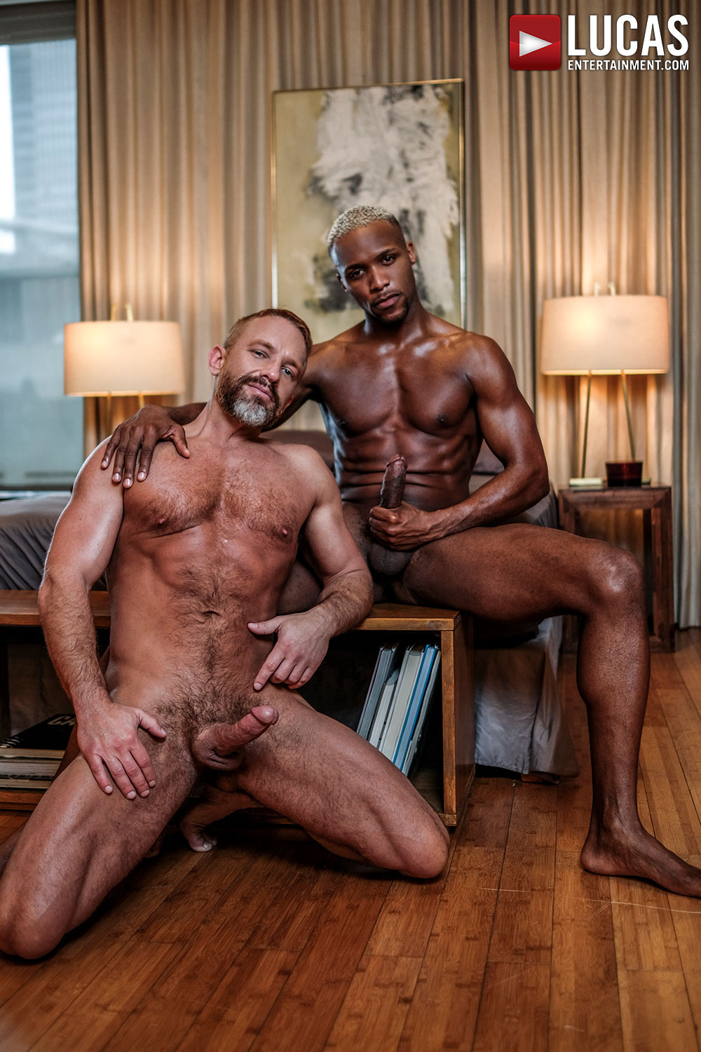 Andre Donovan Tops Muscle-Bear Dirk Caber - Gay Movies - Lucas Entertainment