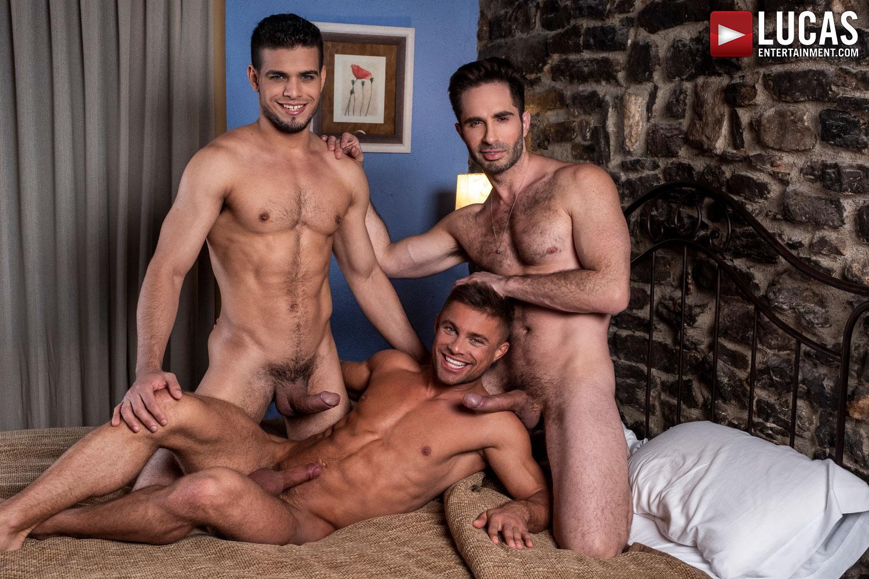 Klim Gromov Rides Michael Lucas And Rico Marlon - Gay Movies - Lucas Entertainment