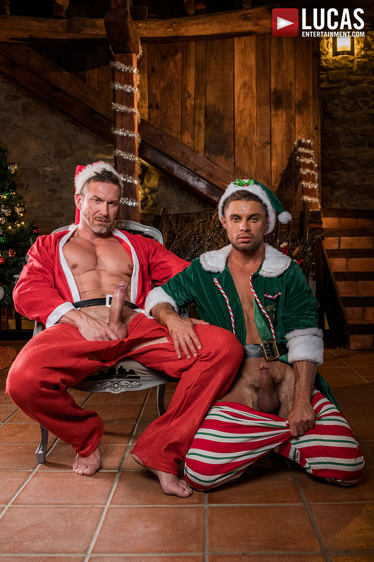 Tomas Brand, Klim Gromov | Bareback Christmas - Gay Movies - Lucas Entertainment