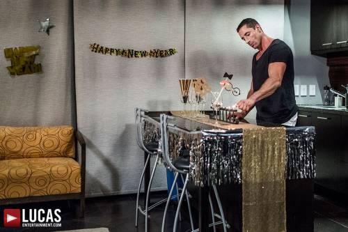 Tryp Bates, Shawn Reeve, Nick Capra, Jackson Radiz   Bareback New Year's Eve - Gay Movies - Lucas Entertainment