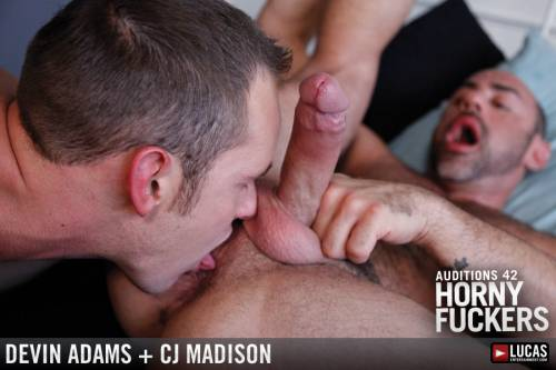 Intense Flip-Fucking with CJ Madison and Devin Adams - Gay Movies - Lucas Entertainment