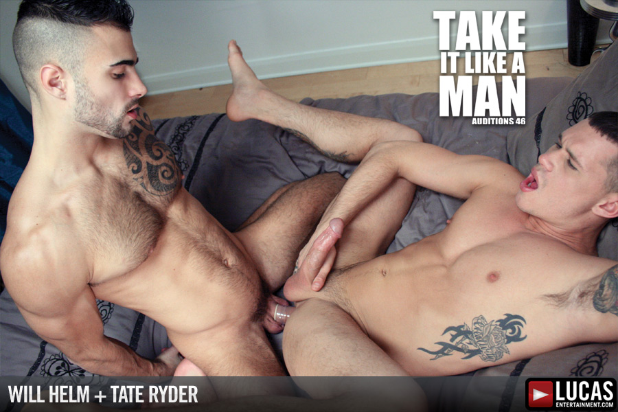 Will Helm Stretches Tate Ryder
