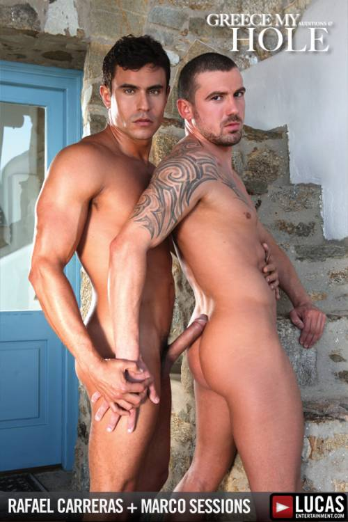 Marco Sessions Gives His Ass to Rafael Carreras - Gay Movies - Lucas Entertainment