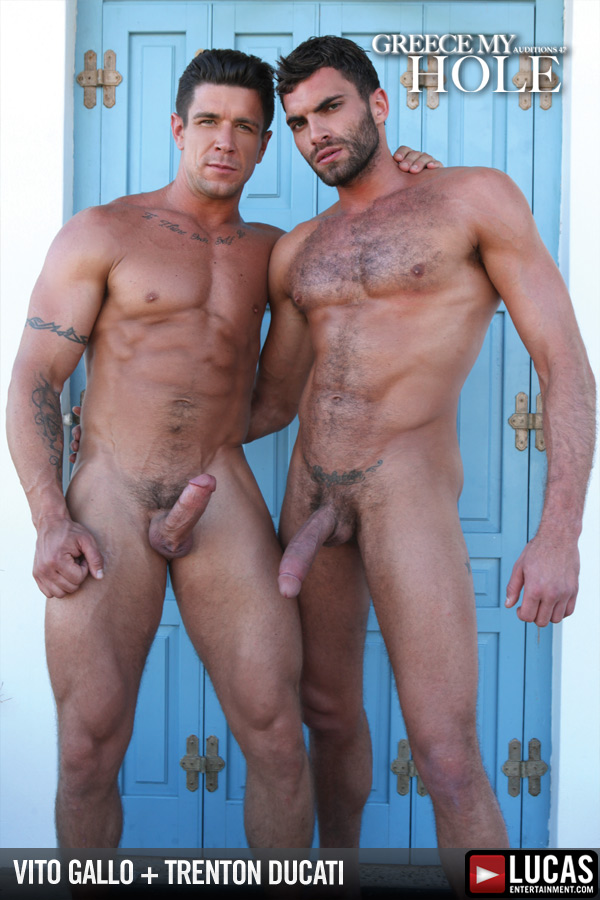 Greek Gods Vito Gallo and Trenton Ducati Flip-Fuck - Gay Movies - Lucas Entertainment