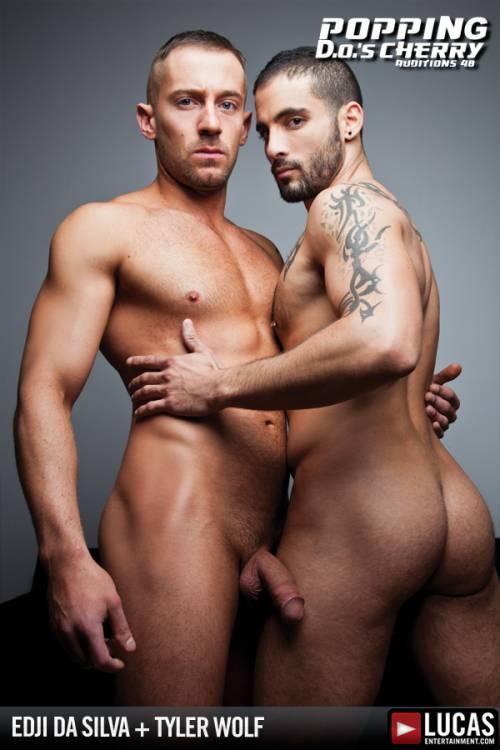 Edji Da Silva and Tyler Wolf Fuck Each Other - Gay Movies - Lucas Entertainment