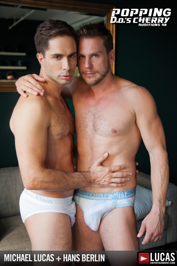 Hans Berlin Services Michael Lucas Uncut Cock - Gay Movies - Lucas Entertainment