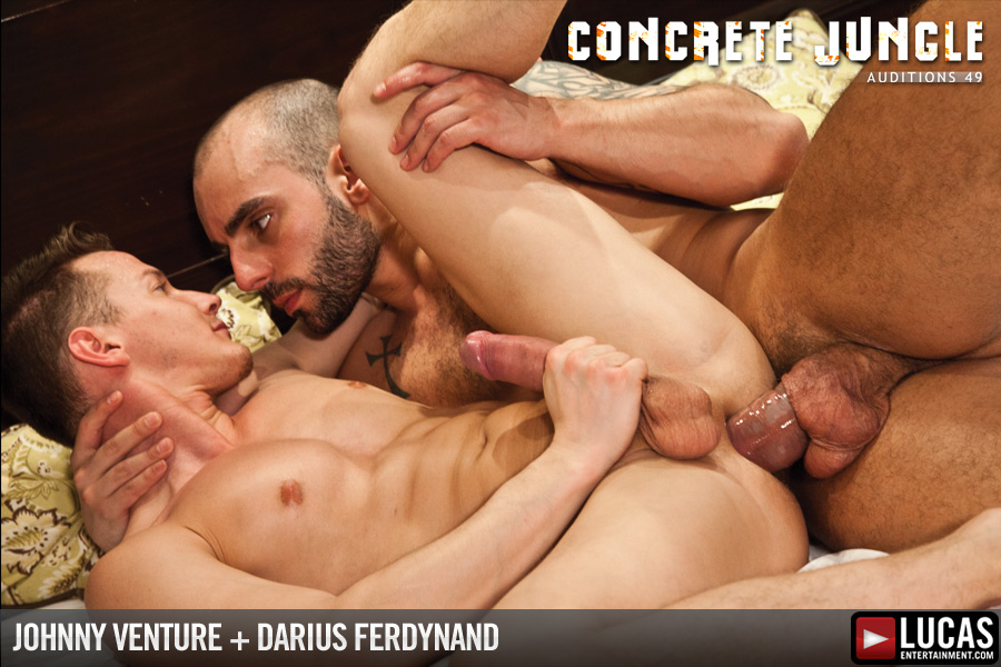 Johnny Venture Pounds Darius Ferdynand - Gay Movies - Lucas Entertainment