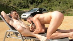 Max Arion, Andy Onassis - Sun, Sweaty, And Uncut Aussie Cock