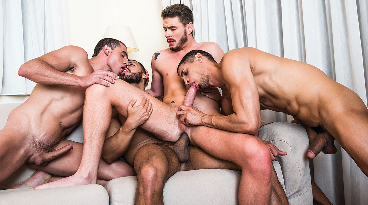 Hungry buttholes for hard cocks two scene two
