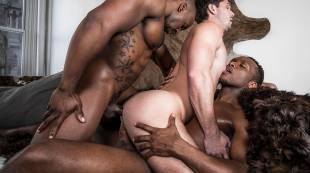 Andre Donovan and Max Konnor Spit Roast Devin Franco