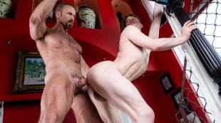 Dallas Steele Makes His Bareback Debut With Ruslan Angelo
