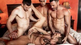Andrey Vic, Manuel Skye, Dallas Steele, Benjamin Gomez | Daddy Orgy