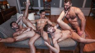 Rafael Alencar, Drew Dixon, Max Adonis, Jake Morgan | Late-Night Meeting