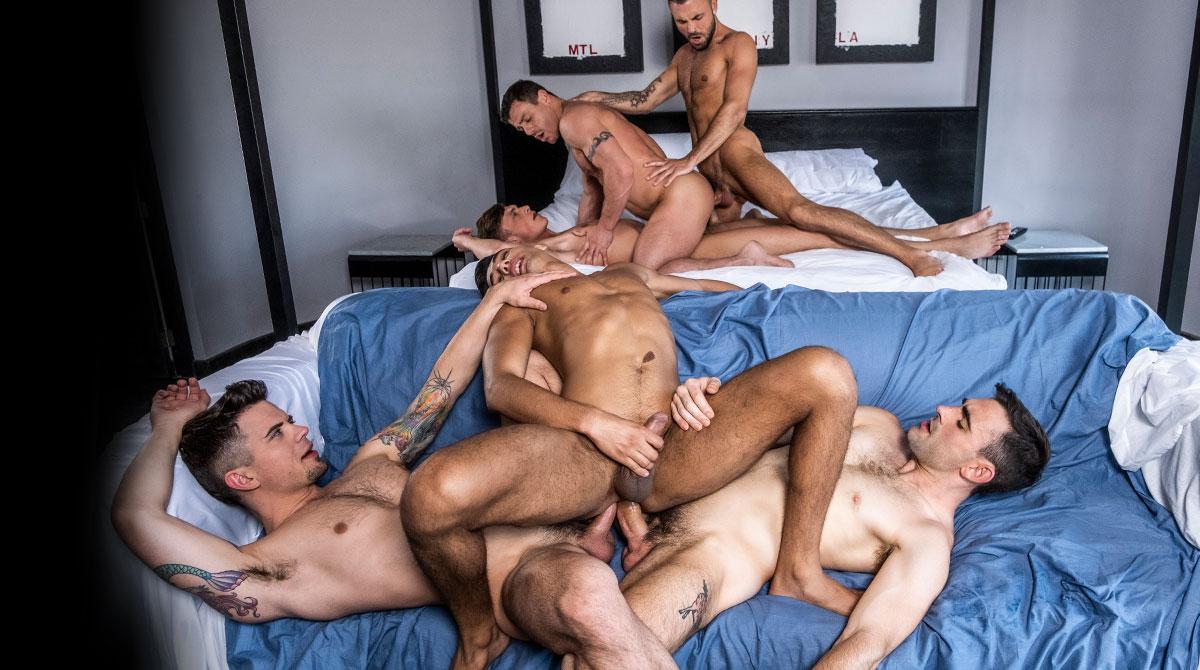 Bear Orgy Porno orgies - lucas scenes | lucas entertainment – official
