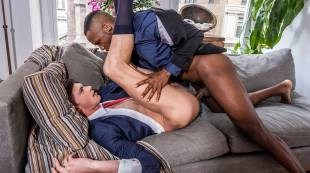 Braxton Boyd Takes Andre Donovan's Black Boss Dick