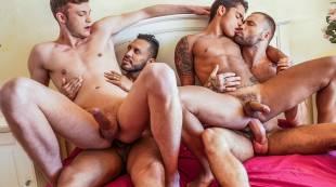 Viktor Rom, Braxton Boyd, Jeffrey Lloyd, And Randy Junior's Raw Foursome