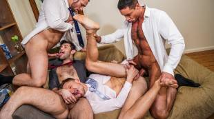 Stas Landon, Nick Capra, Ben Batemen, Andrey Vic | Power Brokers And Ass Pounding