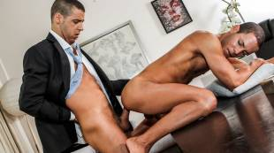 Tommy DeLuca, Liesvel Lopez | Huge Corporate Cocks