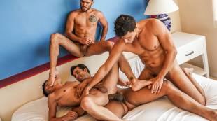 Marco Antonio, Pol Prince, Rafael Carreras, Joaquin Santana | Raw Foursome