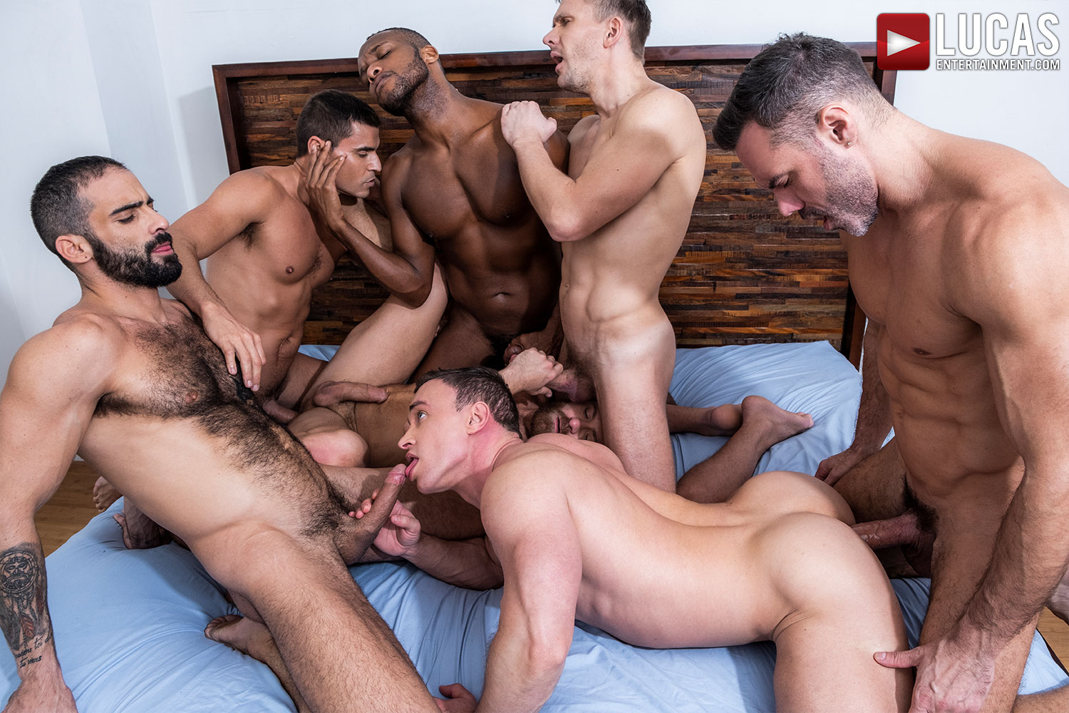 Edji Da Silva Stars In This Friday's Bareback Orgy