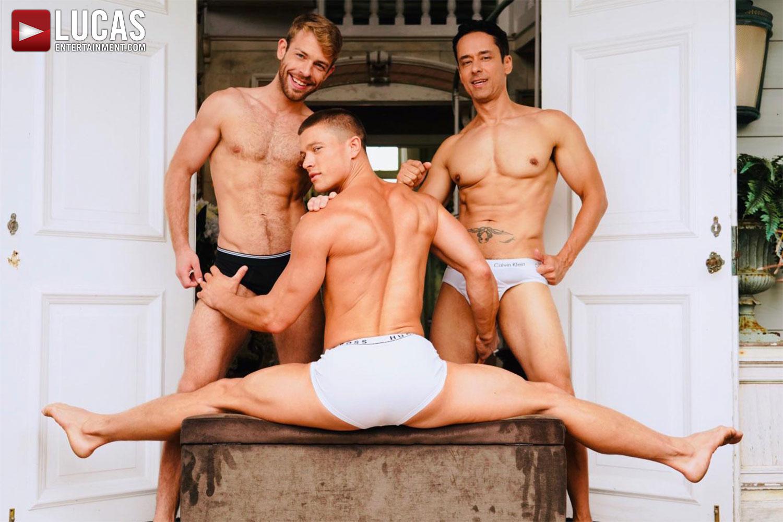 Rafael Alencar, Ruslan Angelo, And More Filming On Fire Island